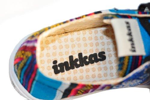 44 BlueBird gt; Schnürhalbschuhe Peru Sneaker 40 gt; Gr in Südamerika Made Inkkas Schuhe Hand High Handgefertigt Xd4IUqq
