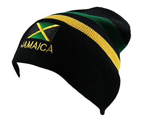 Jamaica Beanie Embroidered