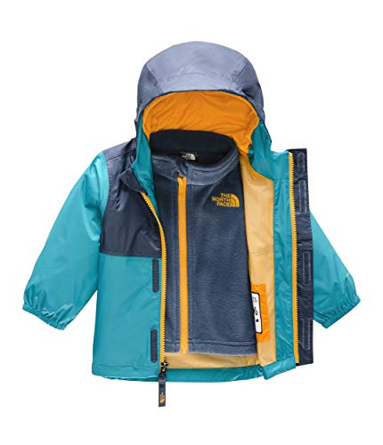 - The North Face Kids Unisex Stormy Rain Triclimate (Infant) Caribbean Sea 18-24 Months
