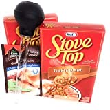 Kraft Stovetop Turkey Stuffing Mix 2 Pack with Baster and Gravy Mix