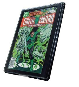 2 Comic Book Showcase Display Cases - Current Size