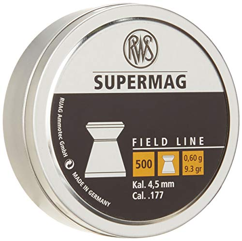 RWS Supermag Field Line 9.3 Grain .177 Air Gun Pellets