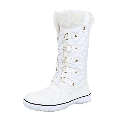 Ital-Design - botas clásicas Mujer Weiß