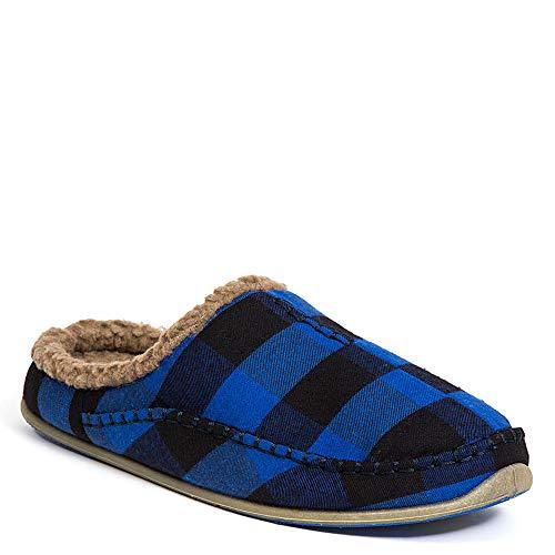 - Deer Stags Men's Nordic Slipper Blue/Black 13 EEE US W (3E)