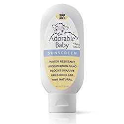 Adorable Baby Sunscreen is formulated especially for baby and offers the same great safety ratings as our original formula with improved consistency and feel. It can be used alone or in combination with a sunscreen stick on all exposed skin. If any d...