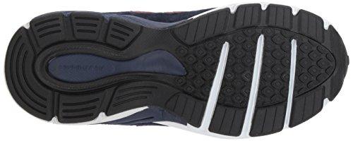 New Balance Boys' 990v4 Sneaker, Blue/Red, 6.5 M US Big Kid by New Balance (Image #3)