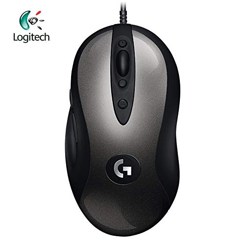 Logitech Mx518 Dpi - HAMISS Logitech 2018 New Version MX518 Legendary Gaming Mouse with 16000 DPI Optical 400 IPS Classic Fever Level Mouse Legend Reborn