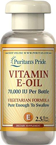 Puritan's Pride Vitamin E-Oil 70,000 IU-2.5 oz Oil