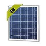 Cheap NewPowa High efficiency 5W 12V Poly Solar Panel Module RV Marine Boat Off Grid