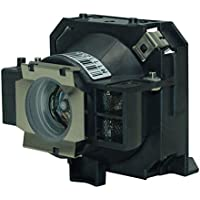 AuraBeam Economy Epson ELPLP32 Projector Replacement Lamp with Housing