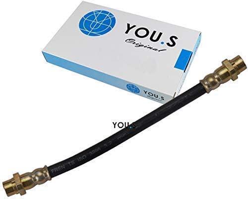 YOU.S Original 343067628383 Bremsschlauch Hinterachse Links /& Rechts 1 St/ück