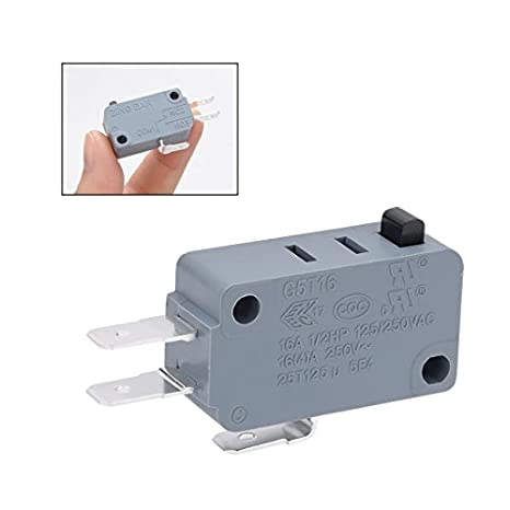 Uxcell a10112200ux0067 Switch Button SPDT Momentary Snap Action: Electrical  Outlet Switches: Amazon.com: Industrial & Scientific | Spdt Micro Switch Wiring Diagram Amico |  | Amazon.com