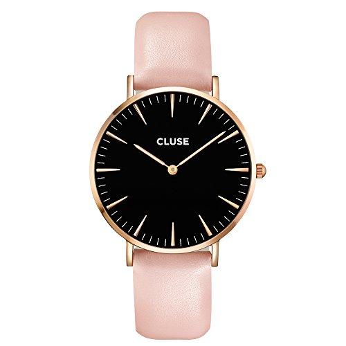 Très CLUSE La Bohème Rose Gold Black/Pink CL18007: Amazon.fr: Montres ZW85