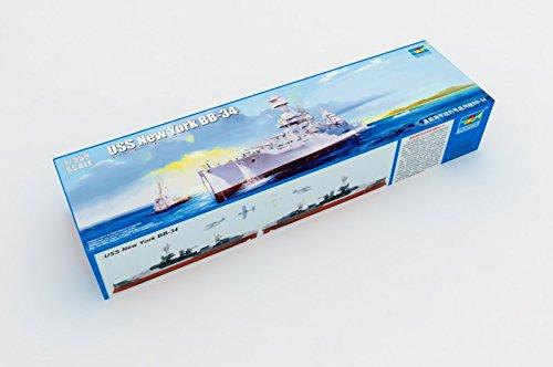 - Trumpeter USS New York BB-34 Battleship Building Kit (1/350 Scale)