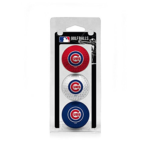 MLB Chicago Cubs 3 Golf Ball Pack