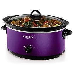 Crock-Pot 7-qt. Slow Cooker Purple SCV700-KP