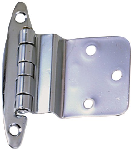 Perko 0271DP0CHR Marine Chrome Hinge Inset - Pack of 2