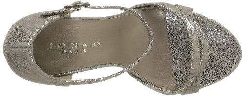 Jonak 88 - Zapatos de Vestir de cuero mujer gris - Gris (Taupe)