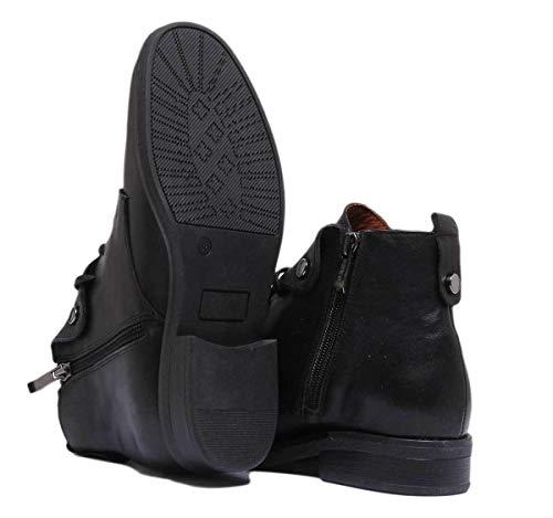 Sandales Pour Noir Femme Reece Justin 7020 6qTEa8wc7y