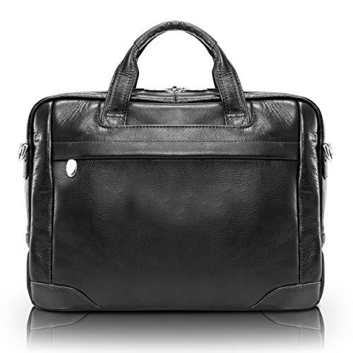 McKlein, S Series, Bridgeport, Pebble Grain Calfskin Leather, 15