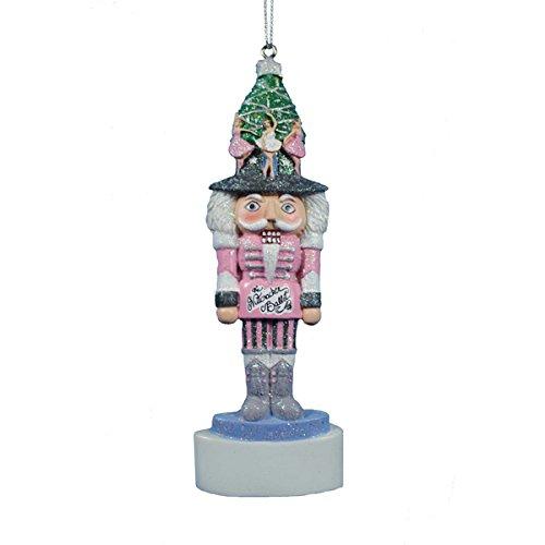 Kurt Adler Nutcracker Ballet Christmas Christmas Ornament for Personalization -