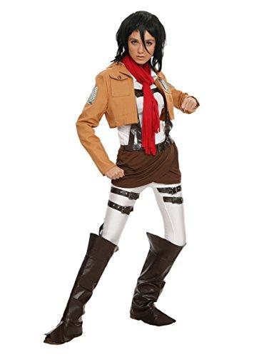 Hot Topic Attack On Titan Mikasa Ackermann Costume -
