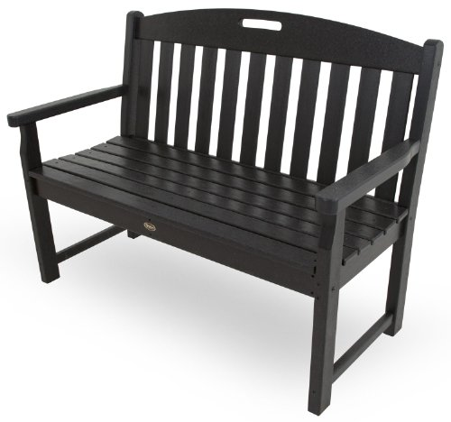Cheap Trex Outdoor Furniture TXB48CB 48-Inch Yacht Club Bench, Charcoal Black