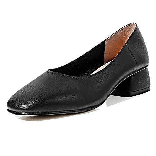 Loafer Womens Black Penny Shoes Meeshine Classic Dress Casual Slip on dtqdpx
