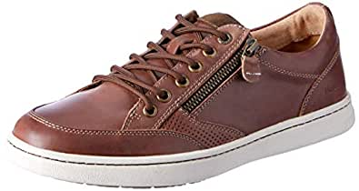 Hush Puppies Trent, Brown Oiled Leather, 6 AU