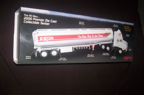 EXXON 2000 PREMIER DIE CAST COLLECTIBLE TANKER