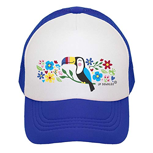 Snapback Front Caps White Pink Cute Youth Lite Velcro Baseball Years Infant Sizes.Dark Surf Mesh Surfer is Available Light Winter Zoto Doodle Snow