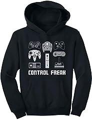 Tstars Video Game Control Freak Gaming Funny Gamer Youth Hoodie