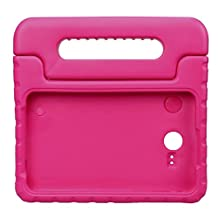 NEWSTYLE Tab E Lite 7.0 & Tab 3 Lite 7.0 Kids Case - Shockproof Light Weight Protection Handle Stand Kids Case for Samsung Galaxy Tab E Lite 7.0 Inch 2016 & Tab 3 Lite 7.0 Tablet (Rose)