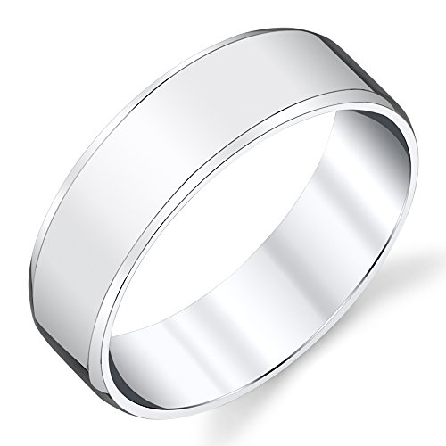 925 Sterling Silver Mens Wedding Band Ring size 8, 9, 10, 11, 12, 13 #SEVB013