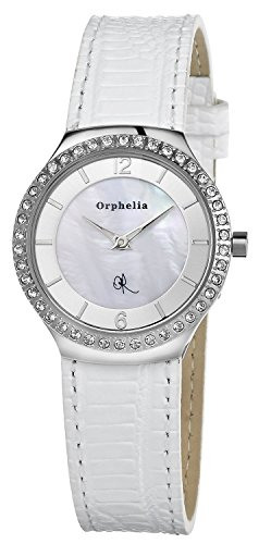 Orphelia OR22170481 - Women's Watch, Leather, White Color