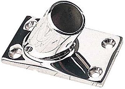 Rectangular Rail Bases Stainless Fastener 1/4 in. FH by Sea Dog Line ()