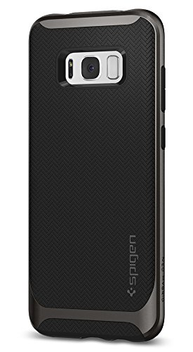 Spigen Neo Hybrid Galaxy S8 Plus Case Herringbone with Flexible Inner Protection and Reinforced Hard Bumper Frame for Galaxy S8 Plus (2017)