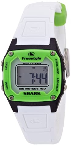 Freestyle Unisex FS80980 Shark Green Black White Polyurethane Watch (Freestyle Shark Green Watch)