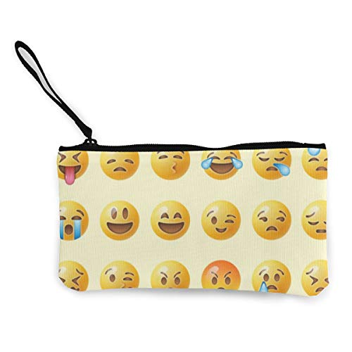 Terany Canvas Pencil Case - Internet Meme Durable Cosmetic Makeup Bag Zipper Closure Coin Purse Wallet Phone Pouch with Handle for Women Kids Adults]()