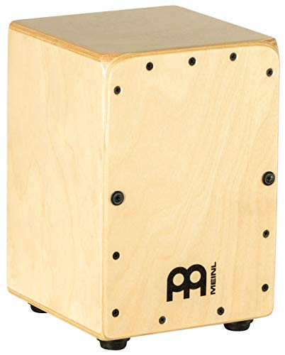 Meinl Mini Cajon Box Drum with Internal Snares – MADE IN EUROPE – Baltic Birch Wood, Miniature Size,  2-YEAR WARRANTY (MC1B)