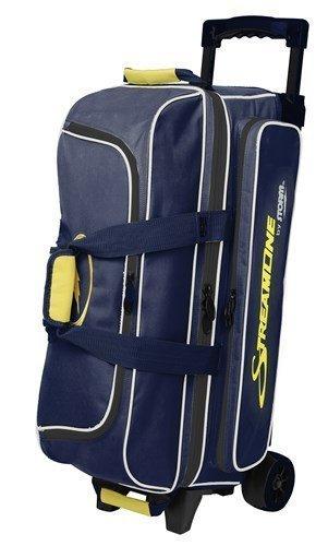 Storm Streamline 3 Ball Bag Navy/Gray/Yellow