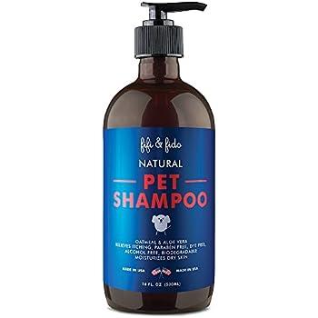 Fifi & Fido Oatmeal Dog Shampoo and Conditioner, 16 oz