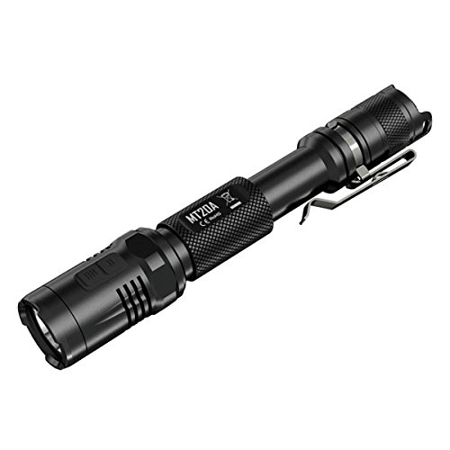 Nitecore MT20A XP-G2 R5 360LM Multitask LED Flashlight by LEEPRA