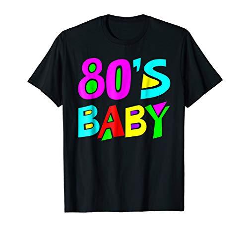 80s Baby T-Shirt 80'S Costume