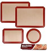 silicone baking mat set