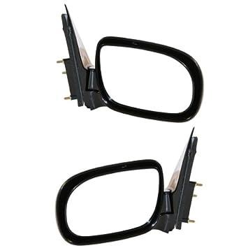 97-05 Montana Silhouette Venture Door Mirror Pair Set NEW Power Smooth Black