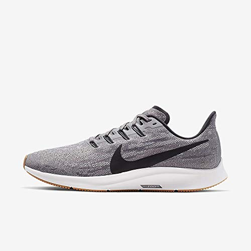Nike Men's Air Zoom Pegasus 36 Running Shoes (10.5 D US, Gunsmoke/Oil Grey/White)