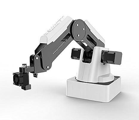 DOBOT Robot de programación educativo mago, brazo robot de 4 ejes con impresora 3D, soporte para bolígrafo, tapa de ventosa, cabezas de agarre para K12 o STEAM Education, versión básica: Amazon.es: Industria,