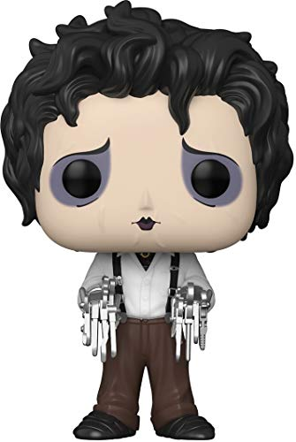 Funko- Pop Movies Scissorhands-Edward in Dress Clothes Figura Coleccionable, Multicolor (49698)