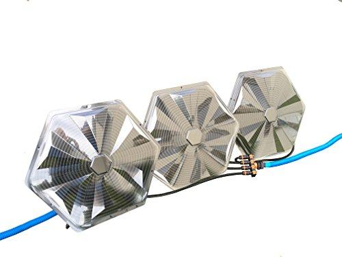 Turbo Sunny Solar Poolheizung 32 mm 3er Set je 365W Heizleistung